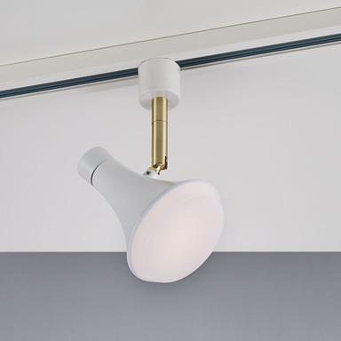 Link 1-Phasen-Schienen LED Spot Sleeky weiss