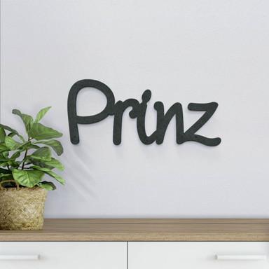 MDF-Holzbuchstaben Prinz