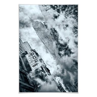 Poster Bravin - Die Strassen von NYC