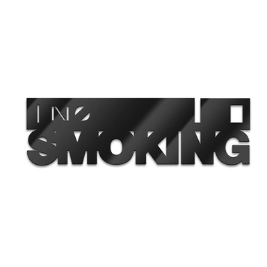 Acryl-Anhänger No smoking