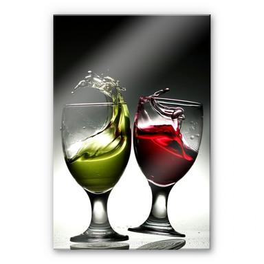 Acrylglasbild Lukman - Gläsertanz