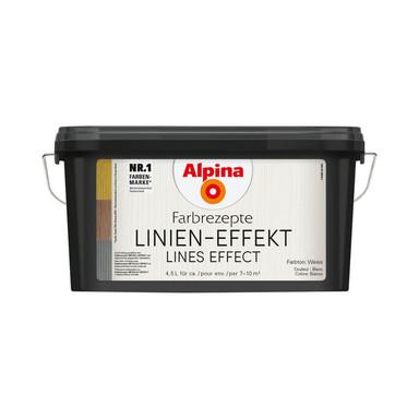 Alpina Farbrezepte LINIEN-EFFEKT - 4.5 Liter - Bild 1