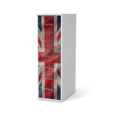 Folie IKEA Alex 9 Schubladen - Union Jack- Bild 1