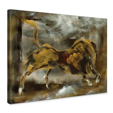 Leinwandbild Niksic - Der goldene Stier