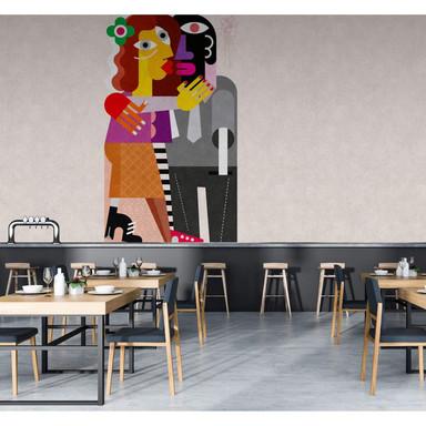 Livingwalls Fototapete Walls by Patel 2 couples 2 - Bild 1
