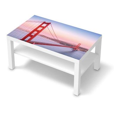 Möbelfolie IKEA Lack Tisch 90x55cm - Golden Gate