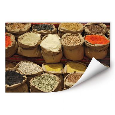 Wallprint Indischer Markt