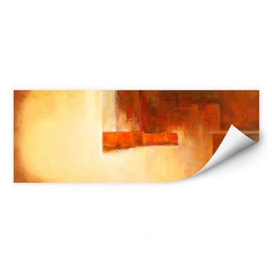 Wallprint Schüssler - Orange-Brown Balance