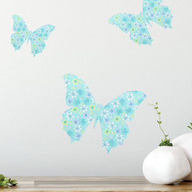 Wandsticker Schmetterling 01 (Muster)