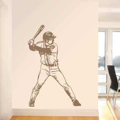 Wandtattoo Baseball 8