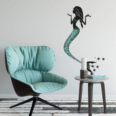Wandtattoo Meerjungfrau 01