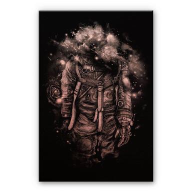 Alu-Dibond Bild mit Kupfereffekt Nicebleed - Lost in cosmic shades
