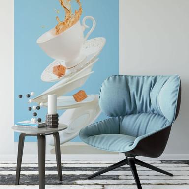 Fototapete Belenko - Dancing Coffee - Bild 1