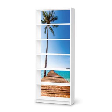 Klebefolie IKEA Billy Regal 6 Fächer - Caribbean- Bild 1