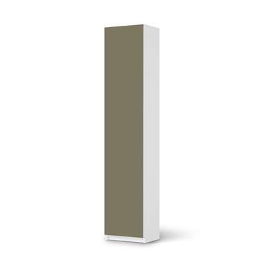 Klebefolie IKEA Pax Schrank 236cm Höhe - 1 Tür - Braungrau Light- Bild 1