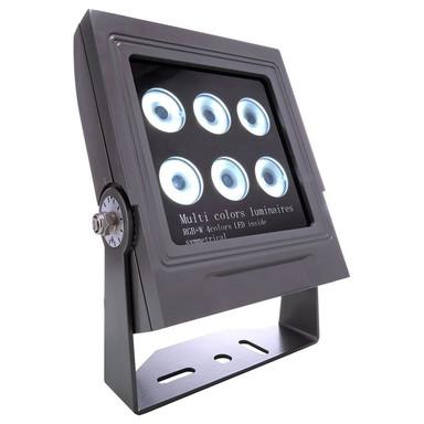 LED Strahler Power Spot in Anthrazit 32W RGB & 3000K 30° IP65