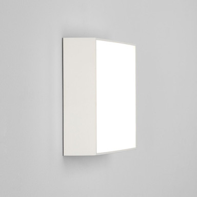 LED Wand- und Deckenleuchte Kea in Weiss 12.2W 925lm IP65 240x240mm