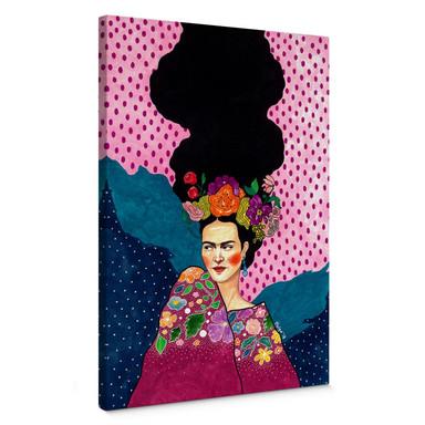 Leinwandbild Hülya - Frida