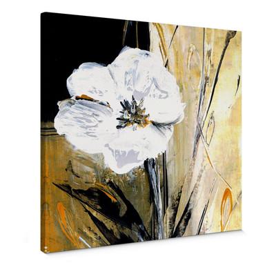 Leinwandbild Niksic - Modern Flower