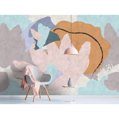 Livingwalls Fototapete Walls by Patel 2 floral collage 2 - Bild 1