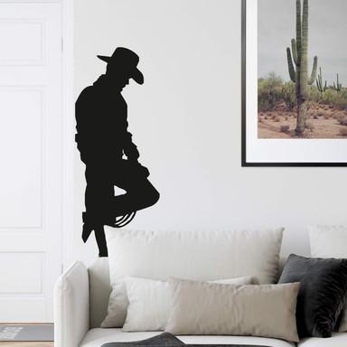 Wandtattoo Cowboy 2