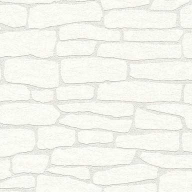 A.S. Création überstreichbare Vliestapete Meistervlies 2020 Tapete weiss, überstreichbar