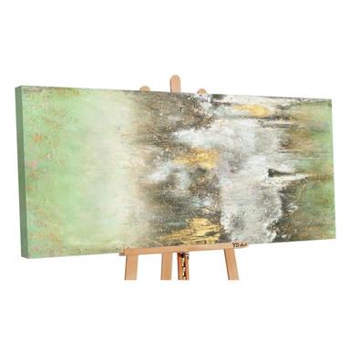 Acryl Gemälde handgemalt Ruhe vorm Sturm 140x70cm