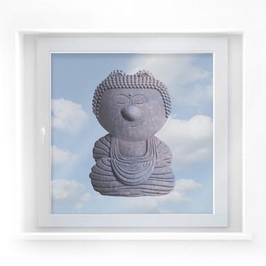 Fensterbild Gelini Buddha