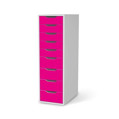 Folie IKEA Alex 9 Schubladen - Pink Dark- Bild 1
