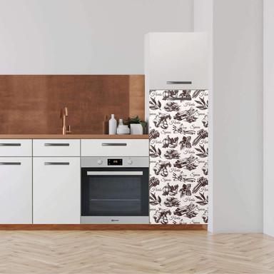 Klebefolie - Hochschrank (60x140cm) - Spices- Bild 1