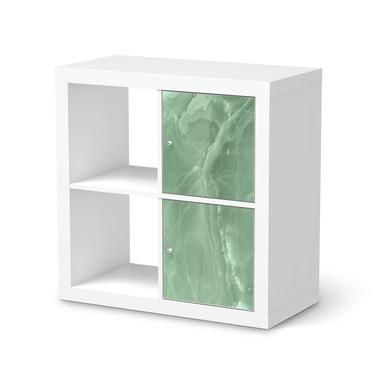 Klebefolie IKEA Expedit Regal 2 Türen (hoch) - Jadeglück
