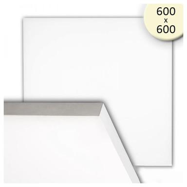 LED Panel frameless, 600 diffus, 50W, warmweiss, dimmbar