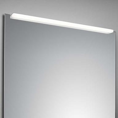 LED Spiegelleuchte Onta in Silber und Weiss 18W 1050lm