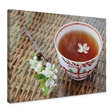 Leinwandbild Teatime