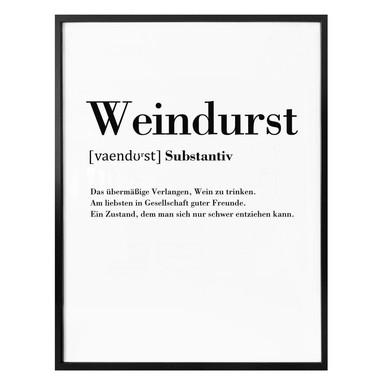 Poster Grammatik - Weindurst