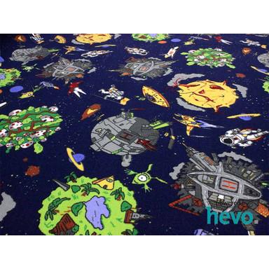 Space Weltraum HEVO ® Teppichboden