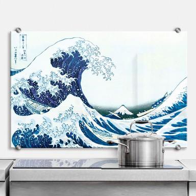 Spritzschutz Hokusai - Die grosse Welle