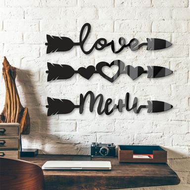 Acrylbuchstaben Arrow