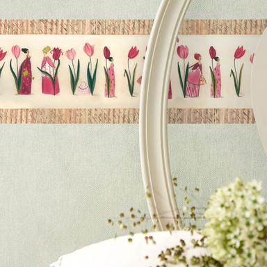 Bordüre Leffler - Tulpen