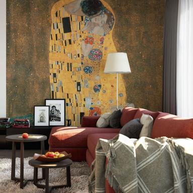 Fototapete Klimt - Der Kuss - 240x260cm - Bild 1