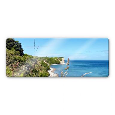 Glasbild Kap Arkona - Panorama