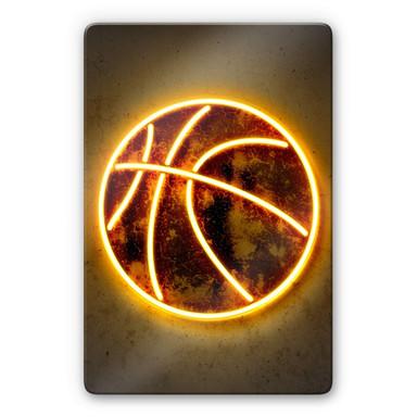 Glasbild Mielu - Basketball