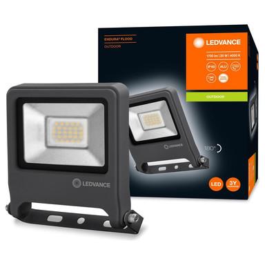 LED Flutlicht Endura in Dunkelgrau 20W 1700lm IP65 4000K