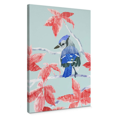 Leinwandbild Goed Blauw - Der Eisvogel
