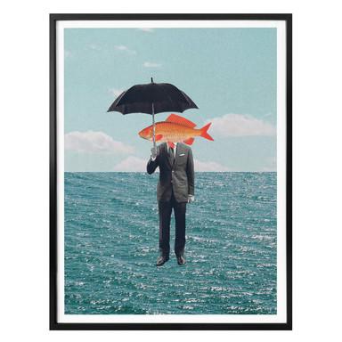 Poster Léon - Can't get wet