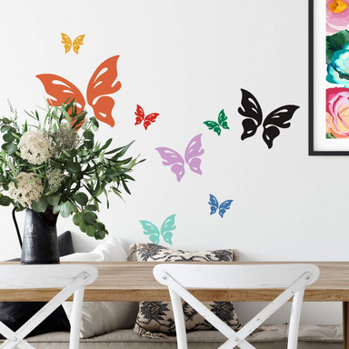 Wandtattoo Schmetterling Floris