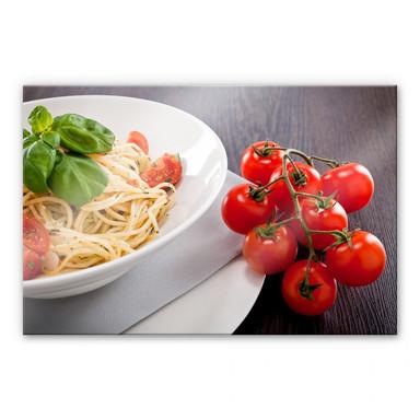 Acrylglasbild Pasta Italiano