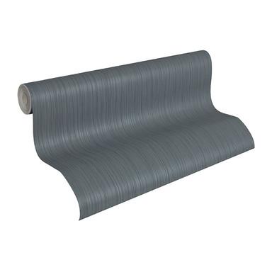 Architects Paper Tapete Nobile blau, metallic