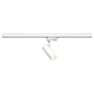 Helia 50 LED Strahler für 3Phasen Hochvolt-Stromschiene, 3000K, weiss, 35°, inkl. 3 Phasen-Adapter