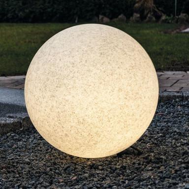 LeuchtKugel Mundan in Granit 400mm E27